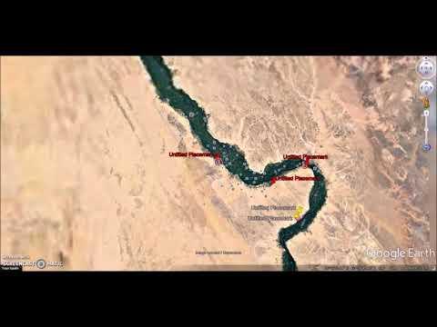 Egypt ~ Google Earth Ruins & Enclosures