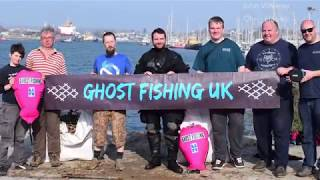 Ghost Net Recovery, Plymouth April 2018