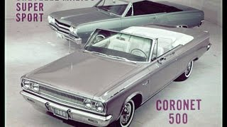 1965 Dodge Convertibles vs. The Competition Dealer Promo Film