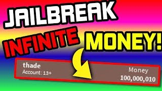 ROBLOX JAILBREAK INFINITE MONEY GLITCH (WORKING)