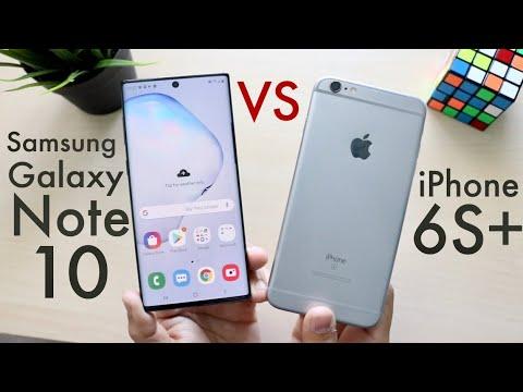 Samsung Galaxy Note 10 Vs iPhone 6S Plus Comparison Review