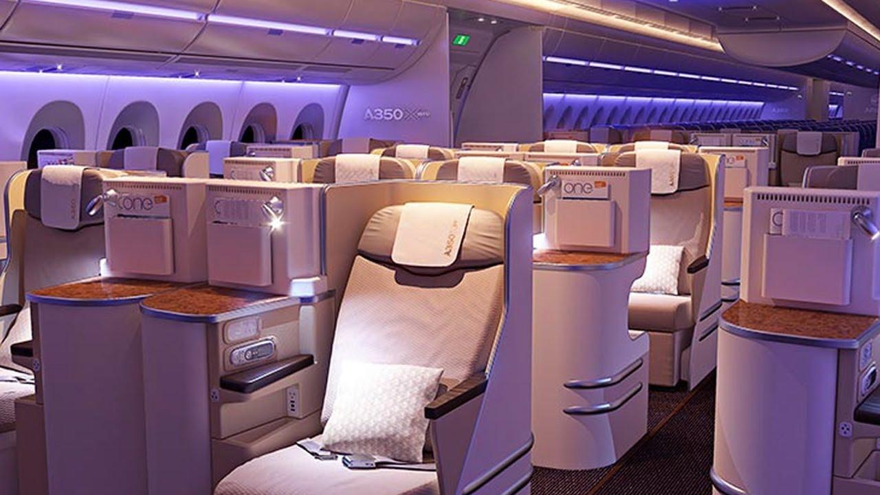 les innovations de la cabine de lairbus a350