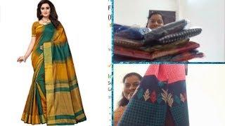 SAREES BELOW Rs.500||SHOPPING HAUL||RAMA SWEET HOME