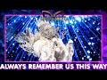 Koningin - 'Always Remember Us This Way' - Lady Gaga | The Masked Singer | VTM