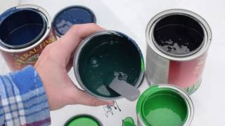 Mixing Custom Paint Colors with General Finishes Milk Paint