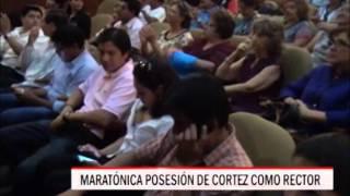 08-10-2015/13:01/MARATÓNICA POSESIÓN DE CORTEZ COMO RECTOR