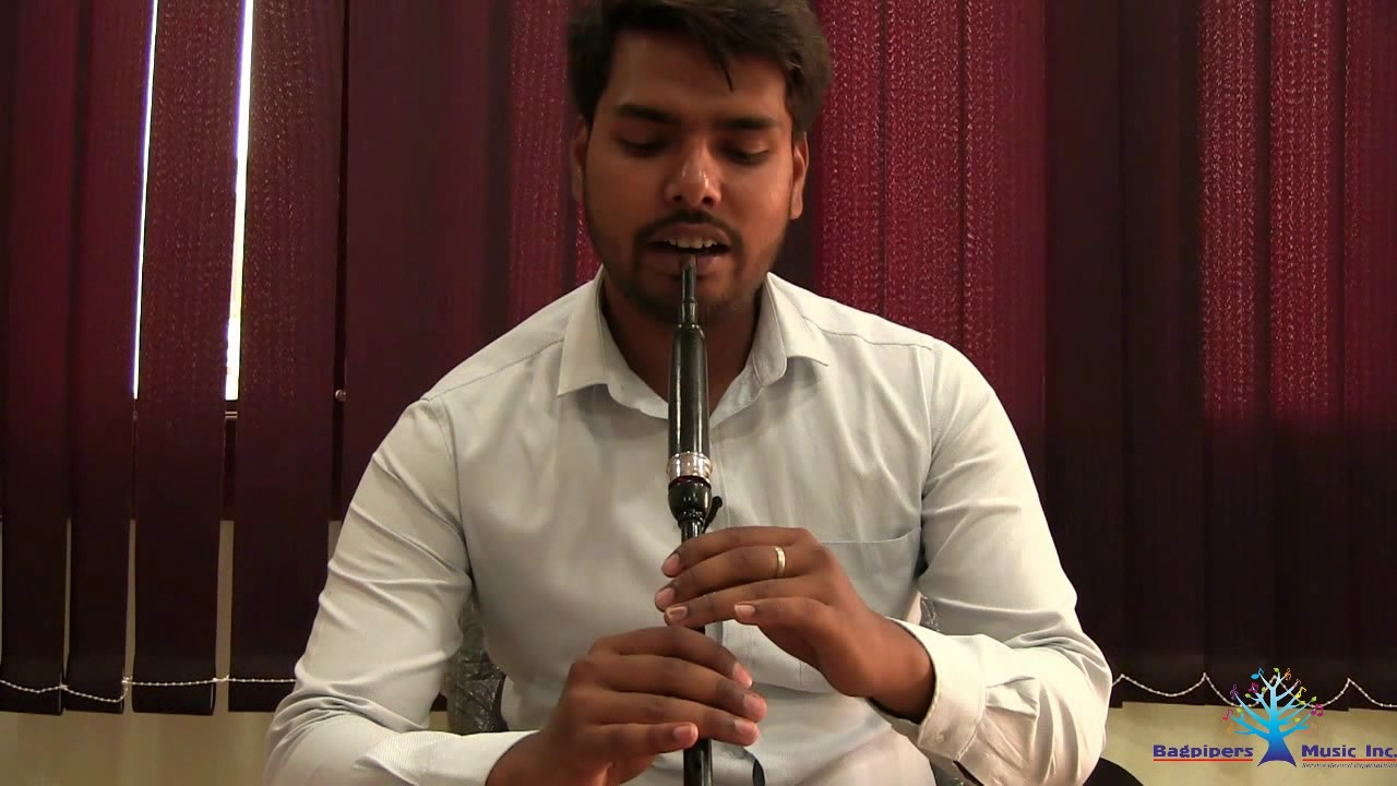 how to play the practise chanter