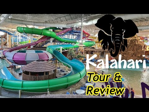 Kalahari Waterpark Resort Wisconsin Dells Tour Review With The Legend Youtube