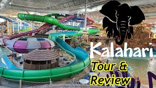 Kalahari Waterpark Resort (Wisconsin Dells) Tour & Review with The Legend
