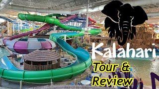 Kalahari Waterpark Resort (Wisconsin Dells) 2020 Tour & Review with The Legend