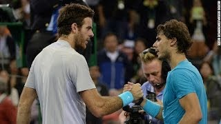 Rafael Nadal vs Juan Martin Del Potro Shangai Rolex Masters 2013 SEM-FINAL Highlights