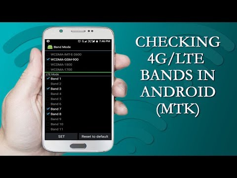 How to Check Compatible 4G/LTE Bands in MTK Android Phones - Journey