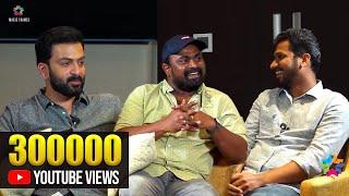 Chit Chat With Prithviraj Sukumaran   Kalabhavan Shajohn   Listin Stephen   Anju Joseph