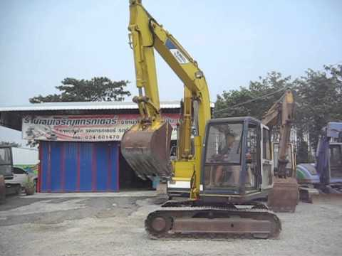 รถขุดแม็คโค โกเบโก้SK60-1 โทร.085-4288184 ชัดขายแล้ว