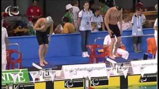 2010 IPC Swimming World Championships Eindhoven, Netherlands - 50 Meter Freestyle