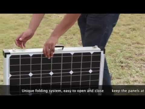 ODA FOLDING SOLAR PANEL Kit available from Online Distribution Australia