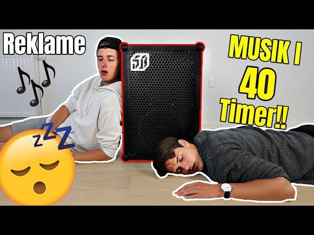 MUSIK I 40 TIMER UDEN STOP?! (40 Timer Challenge)