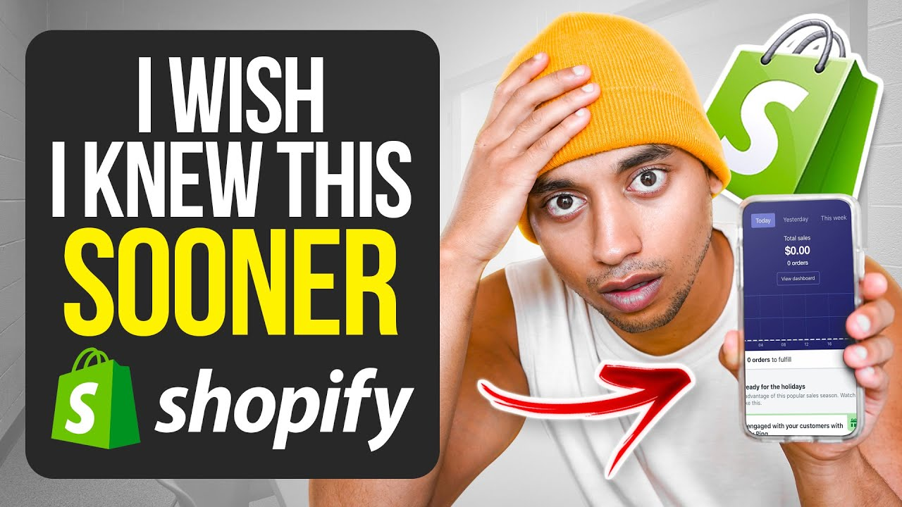 What You Need To Do Before Dropshipping (Shopify)