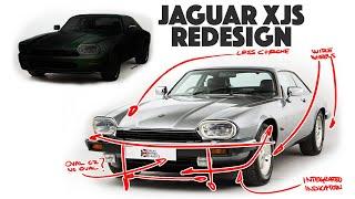 Jaguar XJS Re-design - Modernizing a V12 Classic