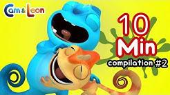 Funny Children Cartoon   10 Minutes Compilation #2   Cam & Leon   Cartoon for Kids