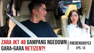 Zara JKT48 Nangis Karena Ini! Boy William Prihatin | #NebengBoy S3 Eps.13