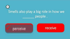 English vocabulary test confusable word 40 : perceive receive confirm conform