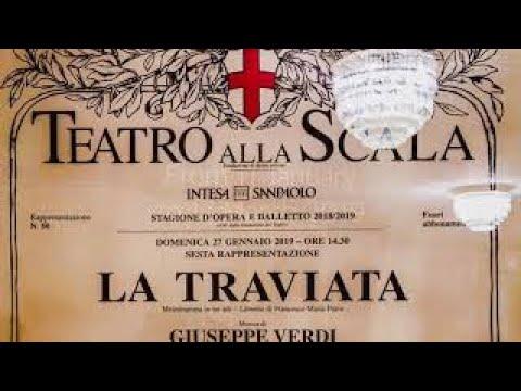 LA TRAVIATA - LA SCALA OPERA HOUSE - Milano