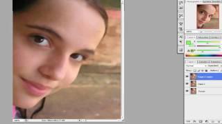 Retoque facial profesional en photoshop!