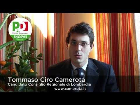 Tommaso Camerota - Candidato Consiglio Regione Lombardia