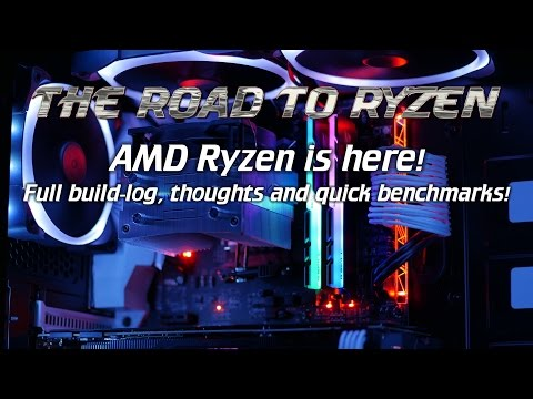 RoadToRyzen: It's here! Ryzen full build-log, first thoughts and benchmarks! Also alphacool fail...