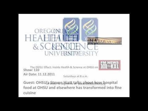 OHSU's Steven Hiatt talks about the hospital food revolution