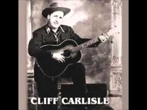Early Cliff Carlisle  Hobo Blues 1930