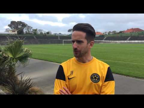 INTERVIEW | José Manuel Figueira - Team Wellington - Pre-Season Friendly Vs. Hawkes Bay Utd ⚫️⚫️💛🎥