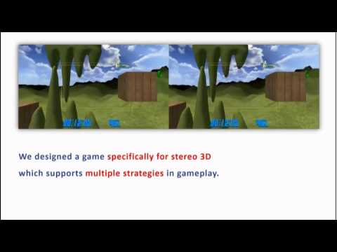 Altering Gameplay Behavior using Stereoscopic 3D Vision-Based Video Game Design