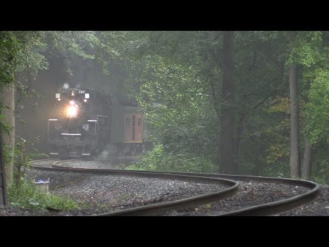NKP 767 Steam In The Valley