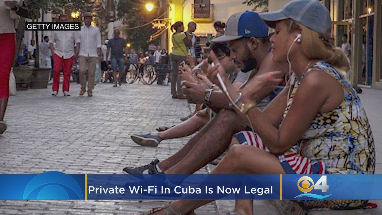 Private Wi-Fi In Cuba Is Now Legal