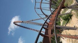 Wildfire Roller Coaster POV Silver Dollar City Branson Missouri