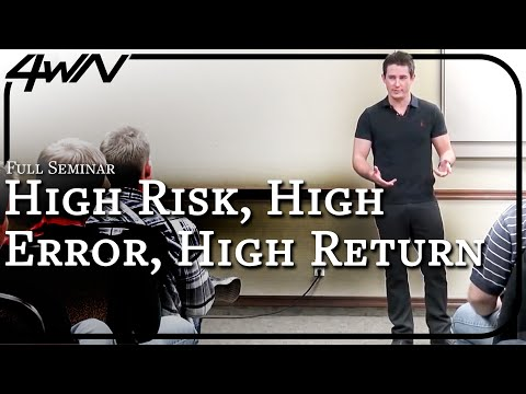 High-Risk High-Reward Game VS Low-Risk Low-Error Game