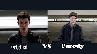 Shawn Mendes Stitches Ft Bart Baker Original VS Parody