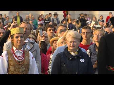 Ruslana - Baltic way / Baltijos Kelias - 25th Anniversary | 23.08.14