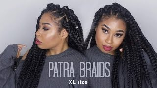 box braids xl size  diy 4 simple steps