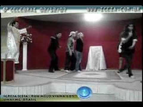 """Peca Teatral """"Santidade"""" - Grupo de Teatro da Igreja Iceia - Peca teatral apresentada pelo Grupo de Teatro da Igreja Iceia, durante o """"6o. Celebrai"""", dia 02/12/2007."""