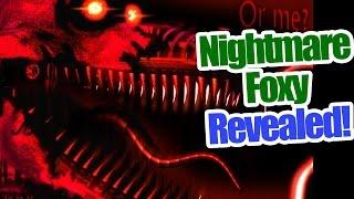 """Nightmare Foxy Revealed! Hidden message not """"nightmare""""?"""