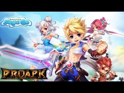 Saga Go Gameplay Android  iOS CBT