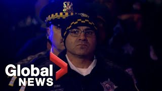 Chicago's Mercy Hospital shooting: Procession held in honour of fallen officer