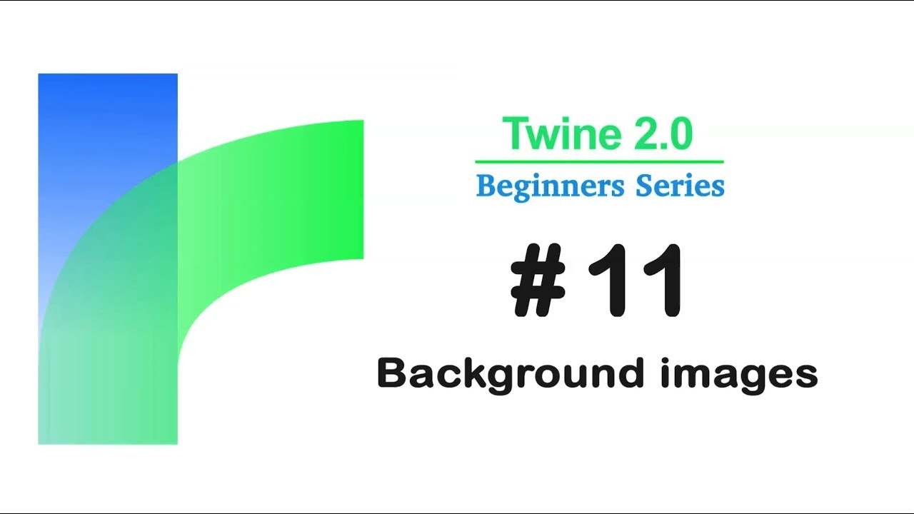 Twine 2 0 - how to Add Background Images / Tutorial #11