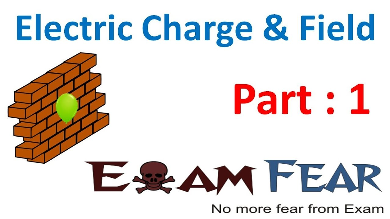 Physics Electric Charges Fields Part 1 Introduction Cbse Class