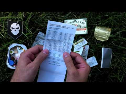 Sardine Can Survival Kit Review
