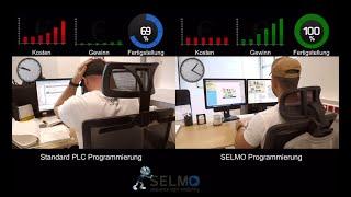 PLC Software Entwicklung  vs. SELMO Software-Konstruktion