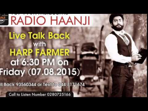 Special Talkback interview with Famous Photographer HARP Farmer - Radio Haanji 1674AM